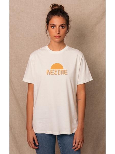 Tee-shirt Joey blanc vintage